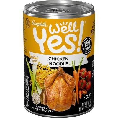 Campbell's Well Yes! Chicken Noodle Soup 16.2oz