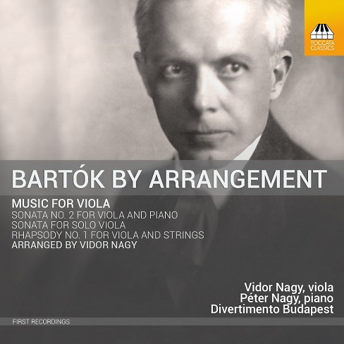 Vidor nagy - Bartok:Arrangements for viola (CD) - image 1 of 1