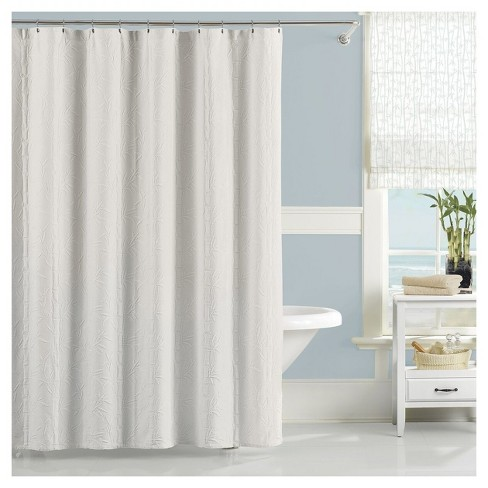 Nepal Solid Shower Curtain