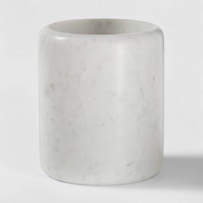 Marble Utensil Holder White - Threshold™