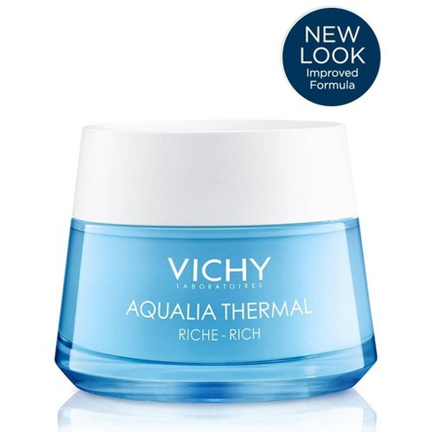 Vichy Aqualia Thermal Rich Hydrating Face Moisturizer with Hyaluronic Acid - 1.69oz - image 1 of 6