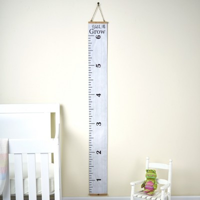 Lakeside Sentiment Ruler Growth Chart - Child Height Tracker - Kids Bedroom Accent