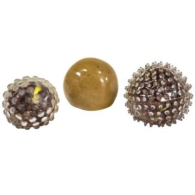 Abilitations Textured Sensory MudBall Fidgets, set of 3