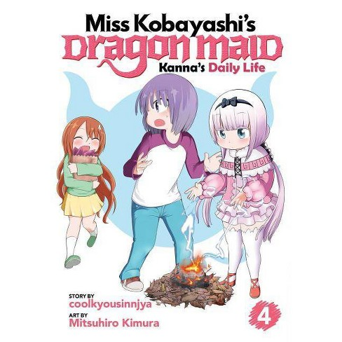 Miss Kobayashi's Dragon Maid: Kanna's Daily Life Vol. 4 - by  Coolkyousinnjya (Paperback) - image 1 of 1