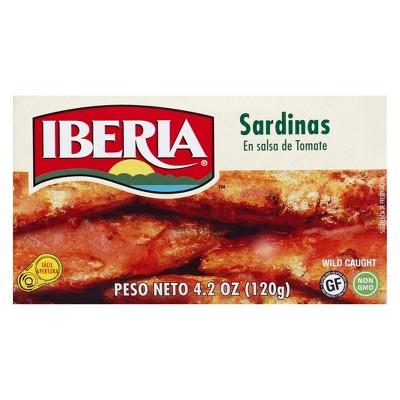 Iberia Sardines in Tomato Sauce - 4.2oz
