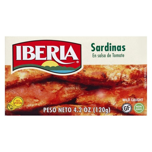 Iberia Sardines in Tomato Sauce - 4.2oz - image 1 of 1
