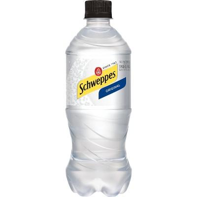 Schweppes Original Sparkling Water Beverage - 20 fl oz Bottle