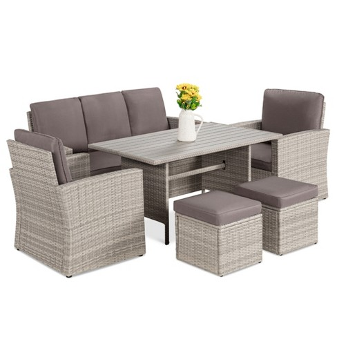Best Choice S 7 Seater, Outdoor Patio Furniture Set