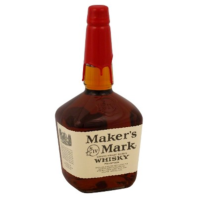 Maker's Mark Bourbon Whiskey - 1.75L Bottle