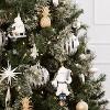 4ct Metal Pineapple Christmas Ornament Set Gold - Wondershop™ - image 2 of 2