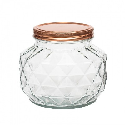 Amici Home Dakota Glass Canister, Small, 56oz