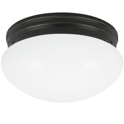 Generation Lighting Webster 1 light Heirloom Bronze Ceiling Fixture