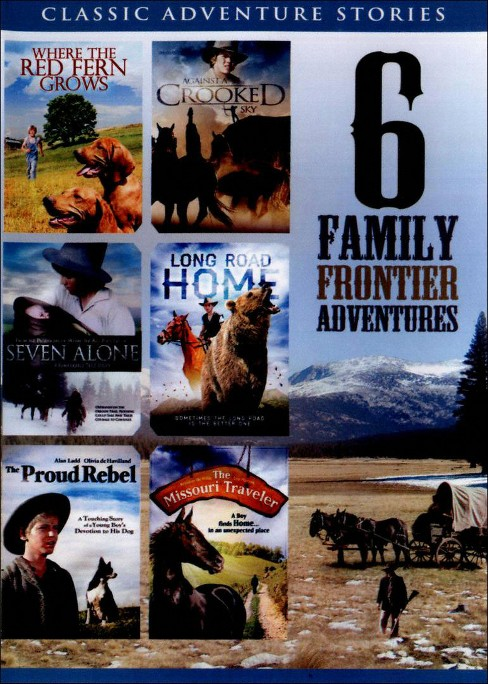 6 film family frontier adventures (DVD) - image 1 of 1