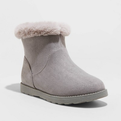 Girls' Georgeina Shearling Style Boots - Cat & Jack™