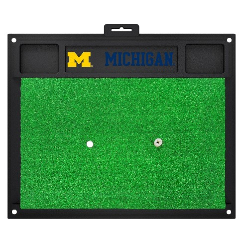 Michigan Wolverines Fan mats Golf Hitting Mat - image 1 of 1