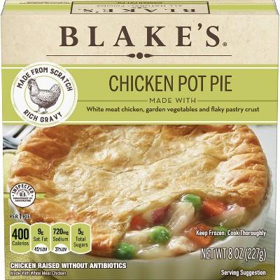 Blake's All Natural Frozen Chicken Pot Pie - 8oz
