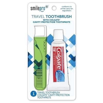Dental Source Toothbrush/Toothpaste Travel Kit
