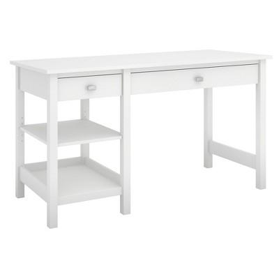 Bush Furniture Broadview Computer Desk With Shelves
