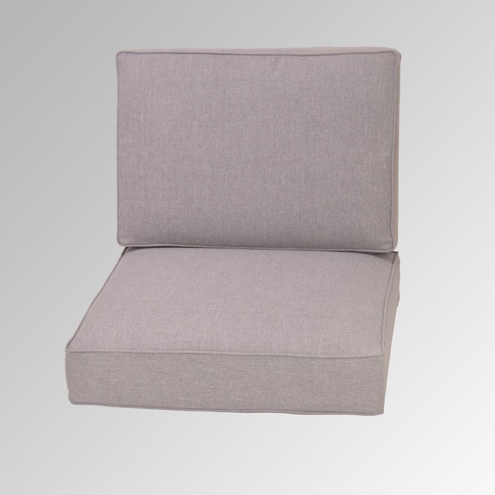 2pc Deep Seating Cushion - Monroe Replacement Cushion - Gray - Threshold