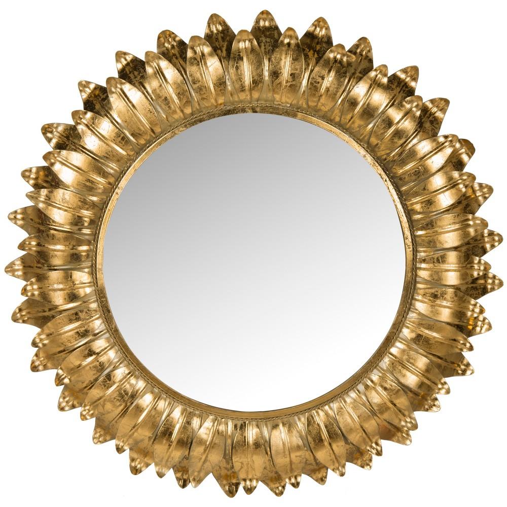 Sunburst Arles Decorative Wall Mirror - Safavieh, Gold