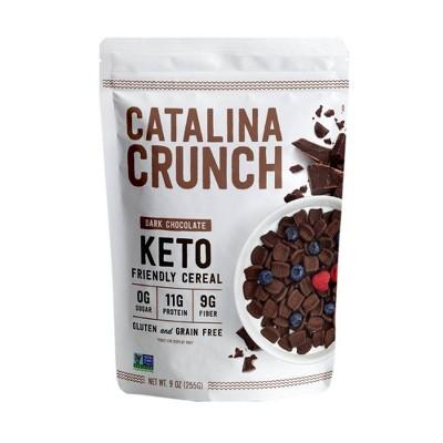 Catalina Crunch Dark Chocolate Keto Cereal - 9oz