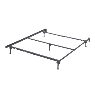 Frames and Rails Bolt on Bed Frame Metallic (Queen)- Signature Design by Ashley