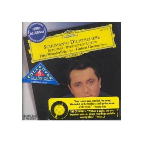 Beethoven - Schumann: Dichterliebe; Schubert, Beethoven: Lieder (CD) - image 1 of 1