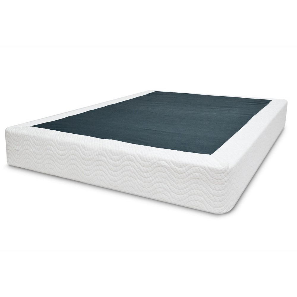 Premium Ultra Steel Mattress Foundation - Queen - White - Dorel Home Products