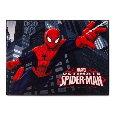 "Spider-Man® Red Accent Rug (3'4""x4'6"") - image 1 of 2"