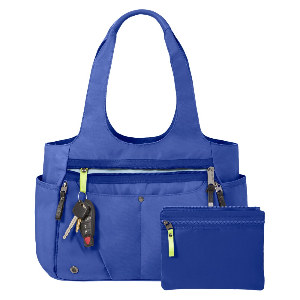 BG by Baggallini Gumption Medium Tote Handbag - Cobalt (Blue), Women's