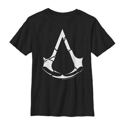 Boy's Assassin's Creed Unity Cracked Logo T-Shirt