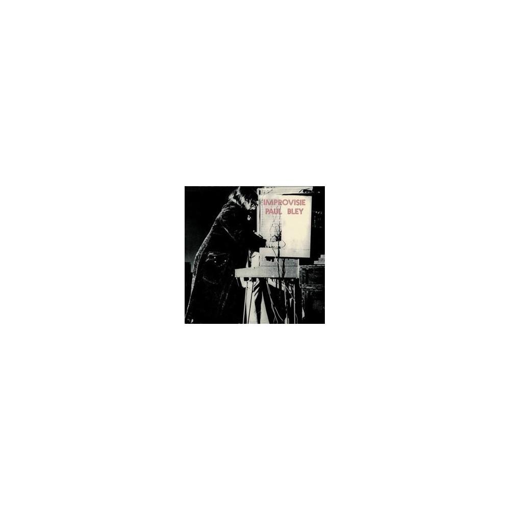 Paul Bley - Improvisie (CD)