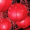 "6ct Multi Size 12"" 14"" 16"" Paper Lanterns Red - image 2 of 3"