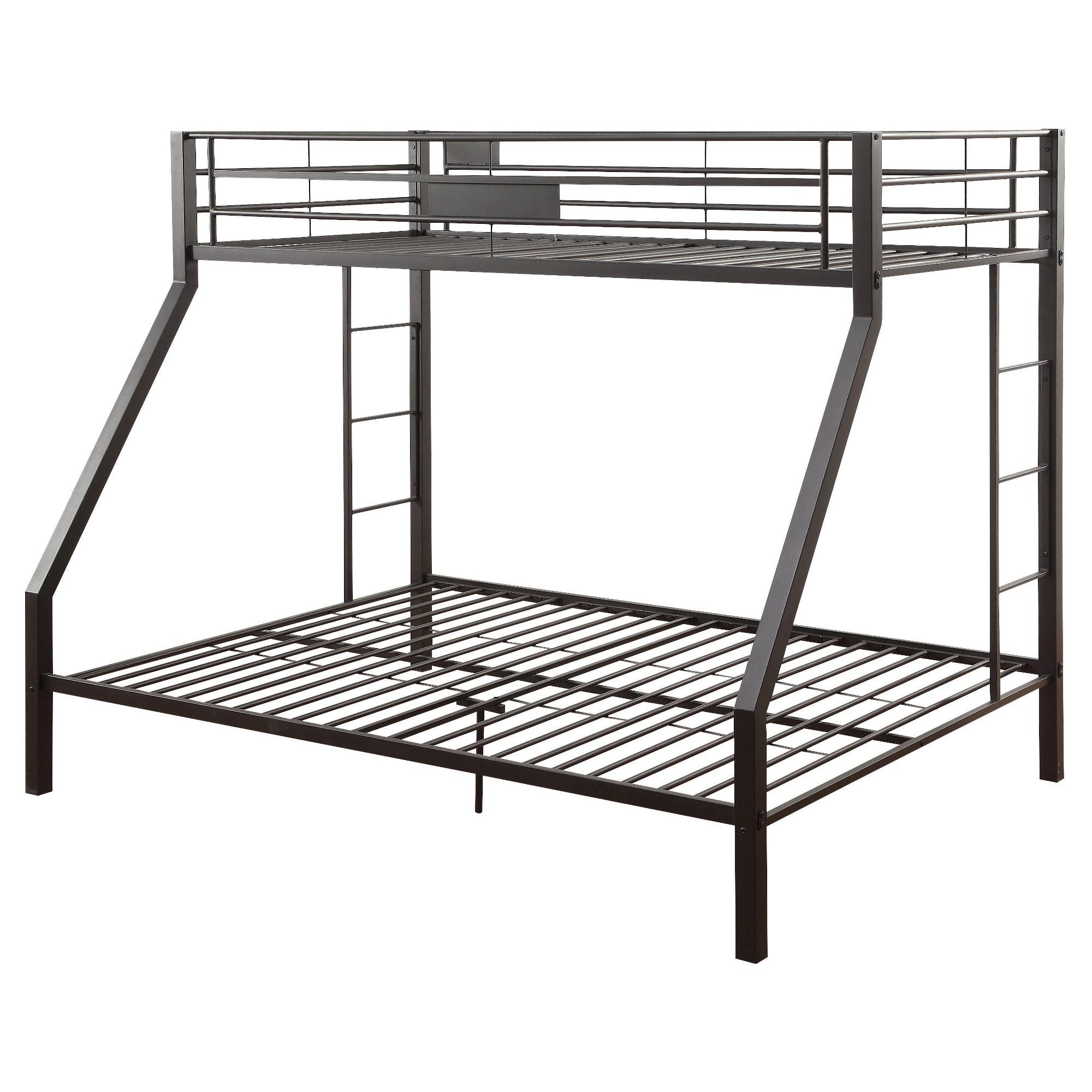 Limbra Kids Bunk Bed - Black Sand(Twin XL/Queen) - Acme