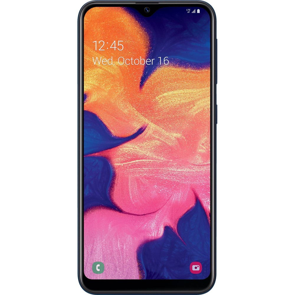 Net10 Samsung Galaxy A10e Prepaid 4g Lte Smartphone 32gb Gray