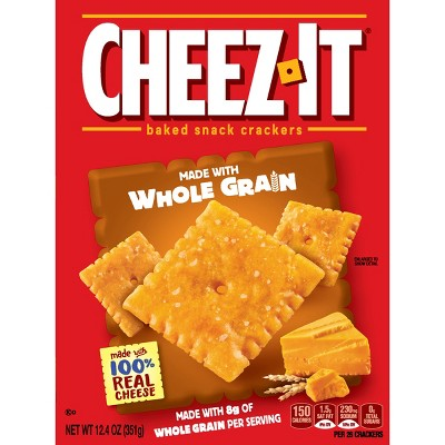 Crackers: Cheez-It Whole Grain