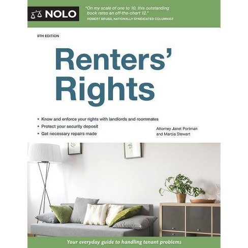 Renters' Rights - 9 Edition by  Janet Portman & Marcia Stewart (Paperback) - image 1 of 1
