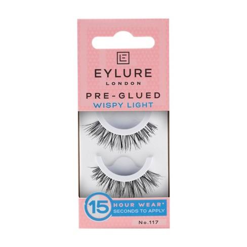 Eylure False Eyelashes Pre-Glued Wispy Light No. 117- 1pr - image 1 of 3