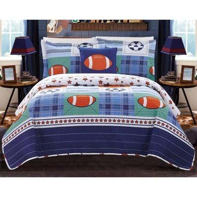 3pc Twin Kilroy Quilt Set Color - Chic Home Design