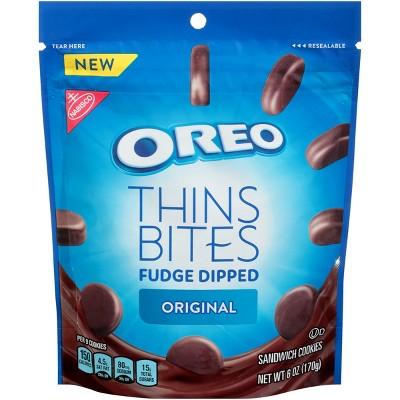 Cookies: Oreo Thins Bites Fudge Dipped