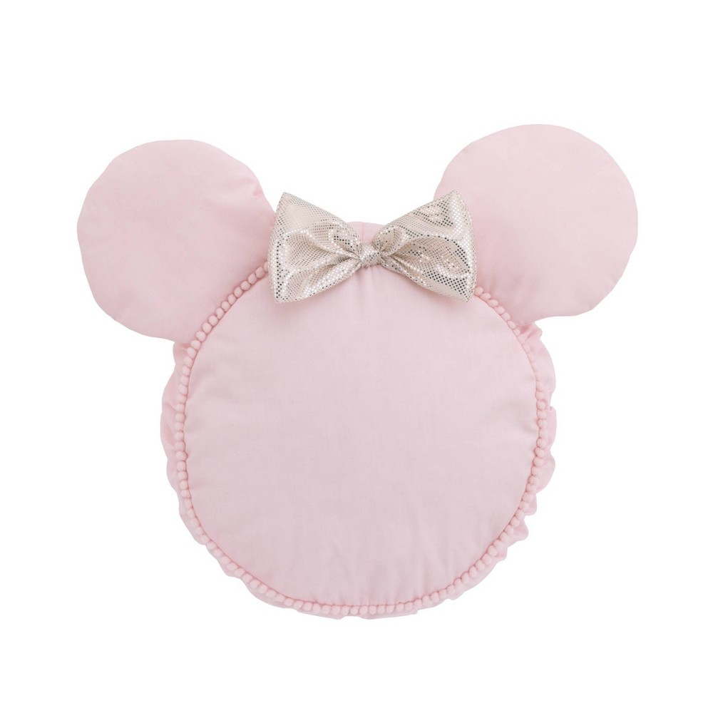 Image of Disney Minnie Mouse Shaped Throw Pillow
