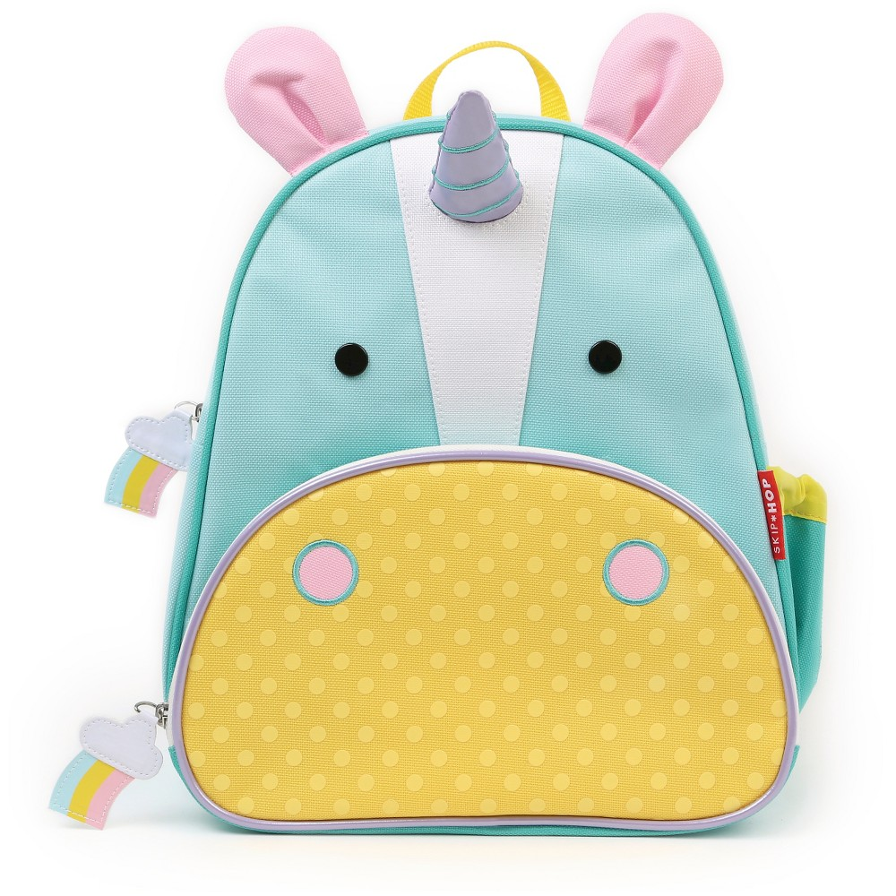 Skip Hop Zoo Little & Toddler Kids' Backpack - Unicorn, Dark Chestnut