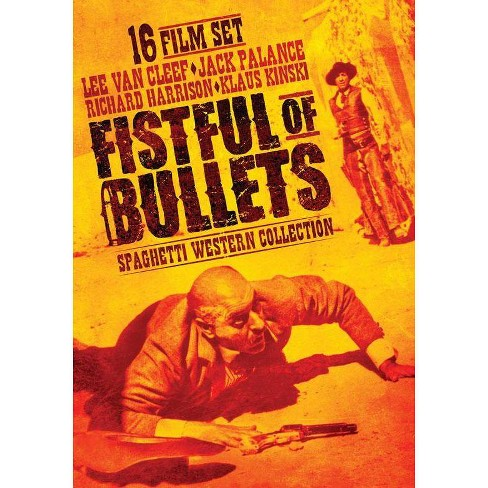 Fistful of Bullets: Spaghetti Western Collection (DVD) - image 1 of 1