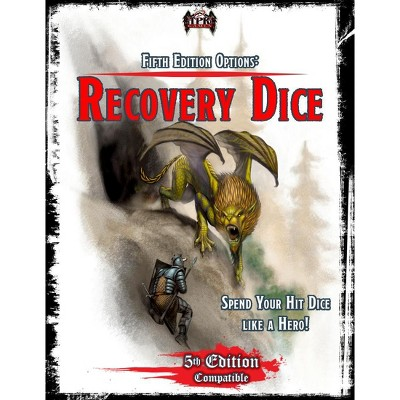 Fifth Edition Options - Recovery Dice Softcover
