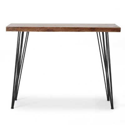 Remington Live Edge Console Table Natural Finish - Christopher Knight Home