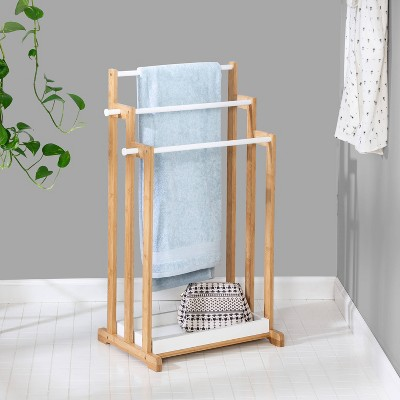 3-Tier Towel Rack Natural - Honey Can Do