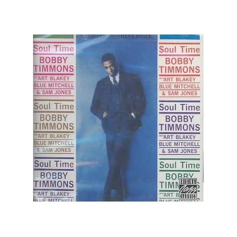 Bobby Timmons - Soul Time (CD) - image 1 of 1