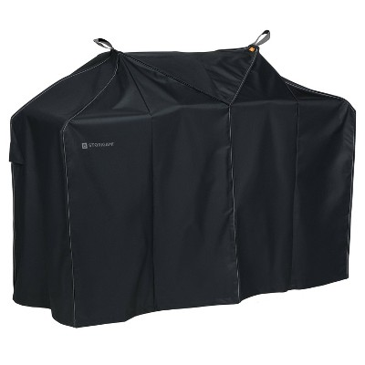 Storigami Easy Fold Large BBQ Grill Cover Charcoal Black - Classic Accessories