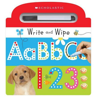 Write and Wipe ABC 123 ( Scholastic Early Learners)(Mixed media product)by Scholastic Inc.