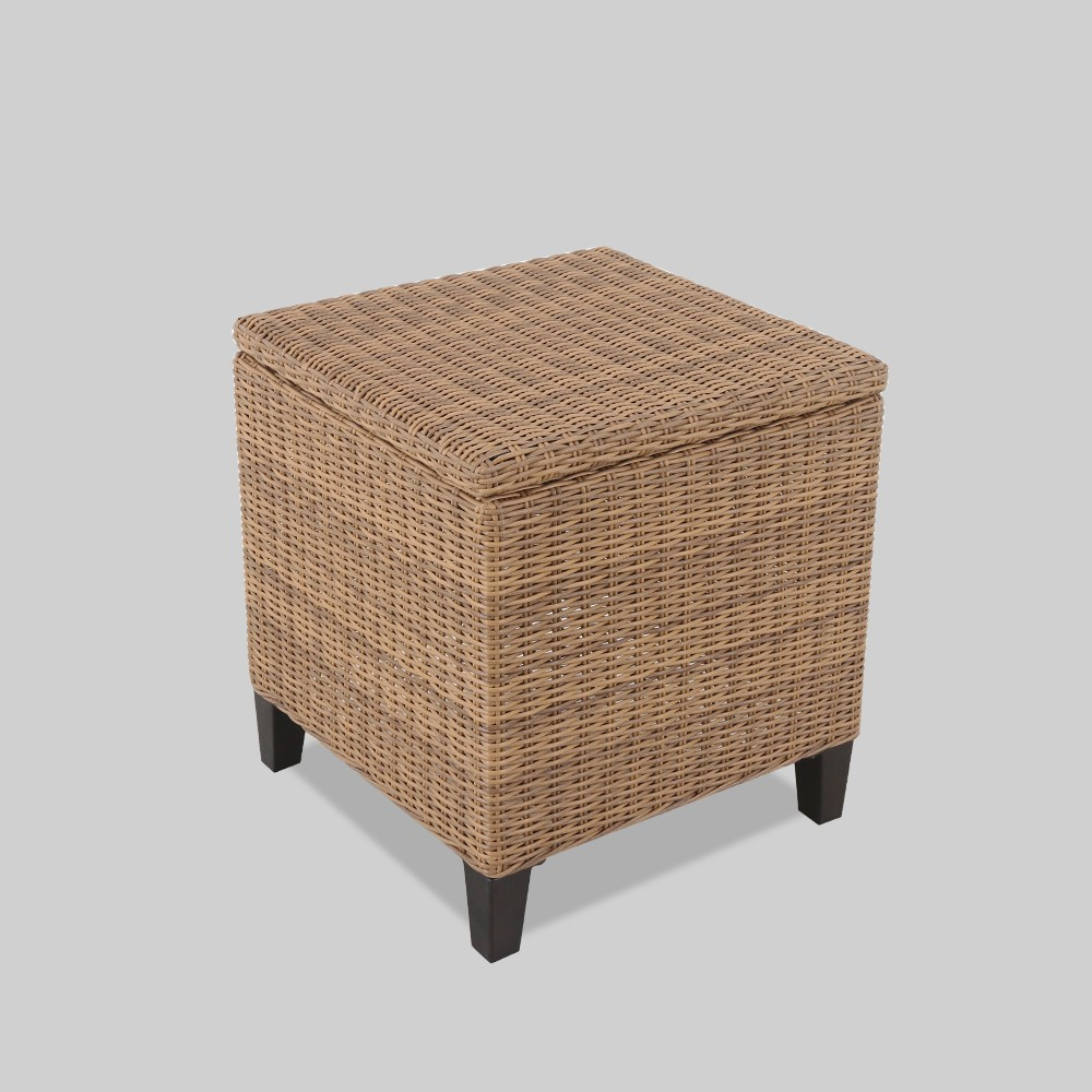 Fullerton Patio Storage End Table Brown - Project 62